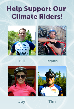 Please support Team Mightybytes on Climate Ride!