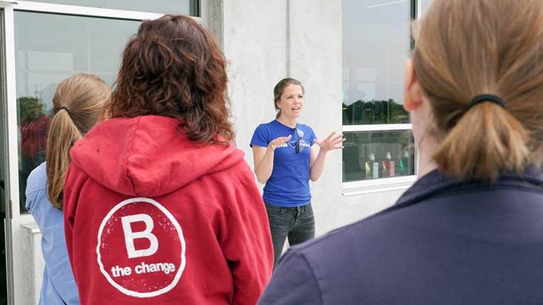 B Corp volunteer event