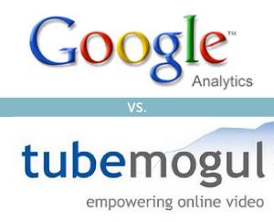 Google analytics logo and tubemogul logo