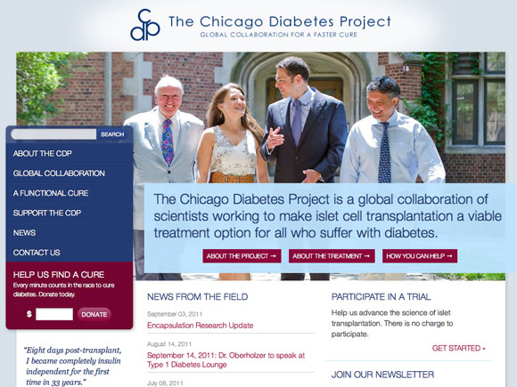 Chicago Diabetes Project Home Page
