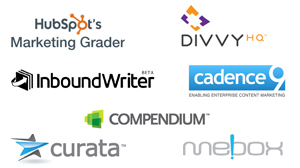 Content Marketing Tools Logos