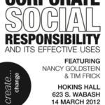 Corporate Social Responsibility: Profits with Purpose Event at Columbia College
