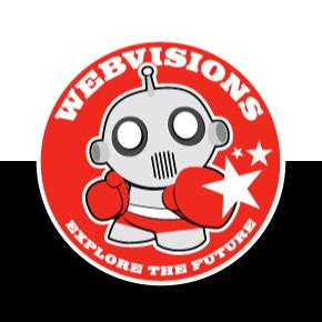 Webvisions Explore The Future logo
