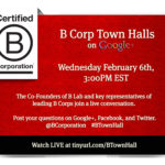 B Corporation Town Hall Recap
