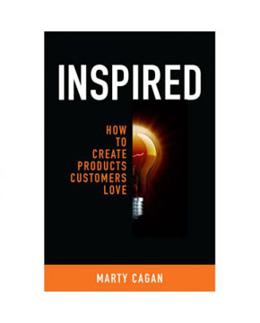 "image of book cover, ""Inspired"", by Marty Cagan book cover"