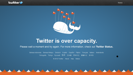 "This is a whale image logo owned by Yiying Lu (the original designer of the image) for Twitter's ""Fail Whale""."