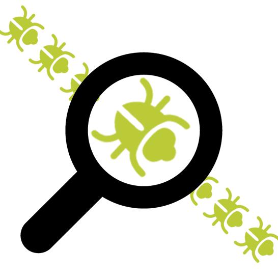 illustration of software bug tracking