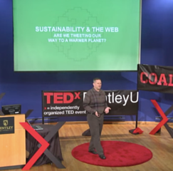 tim frick at tedx bentleyu
