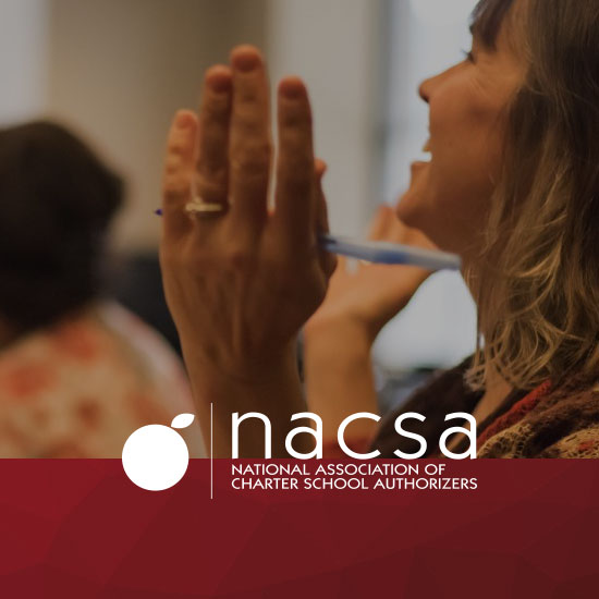 NACSA logo with photo of woman in background