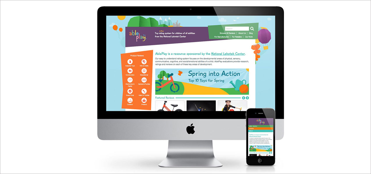 AblePlay Website Redesign