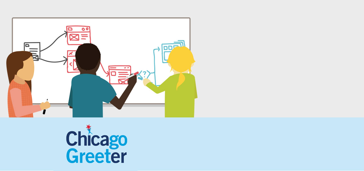 Chicago Greeter Journey Mapping Workshops