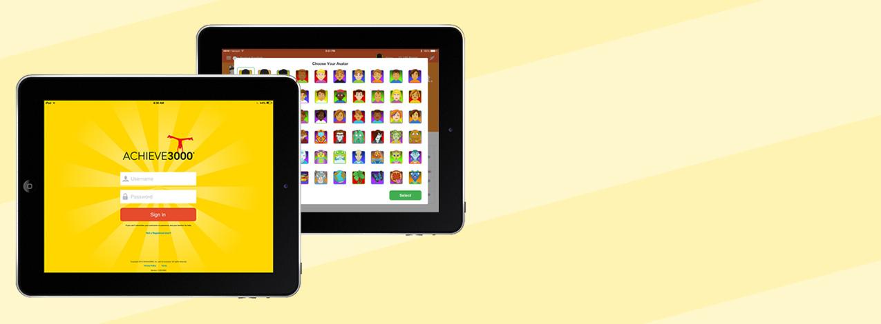 Achieve3000 iPad App Redesign