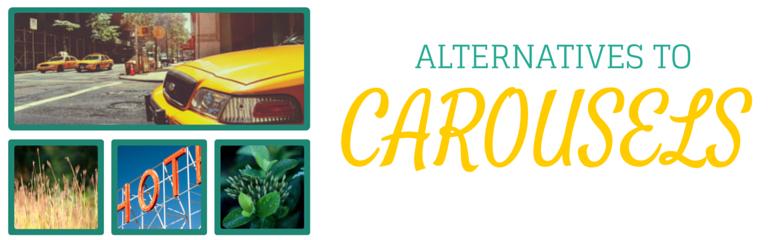 website carousel alternatives image