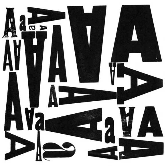 Web Fonts: Illustration of old typeface