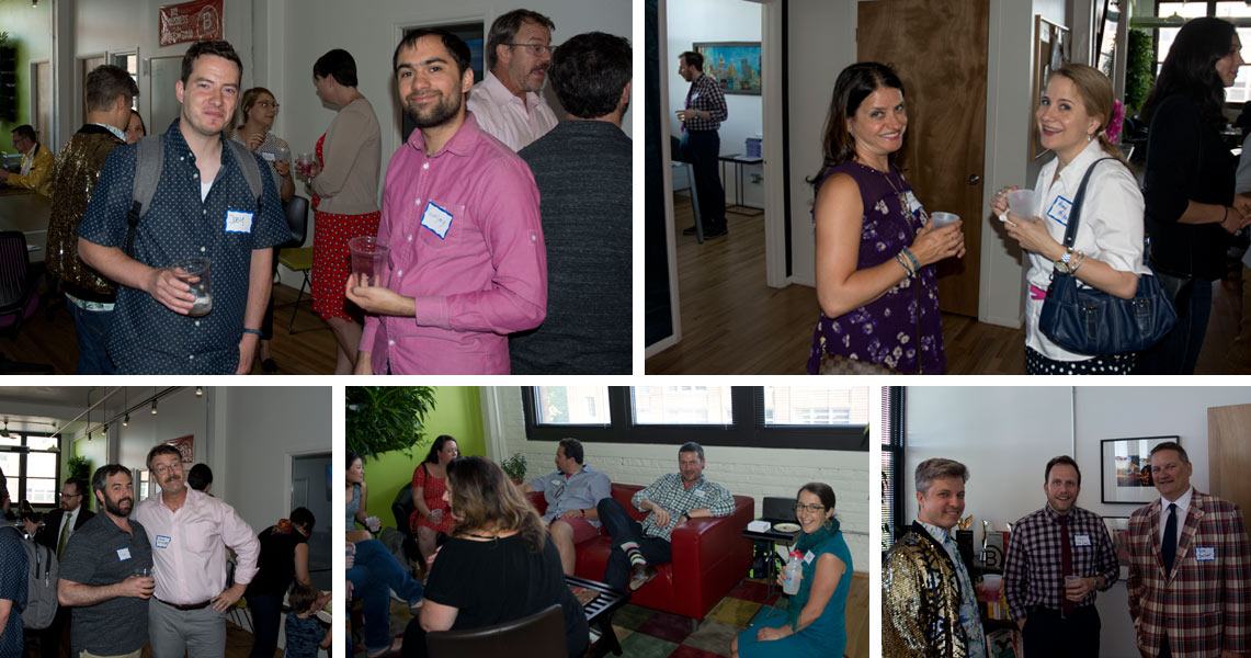 Networking at the Digital Marketing Makeover Event