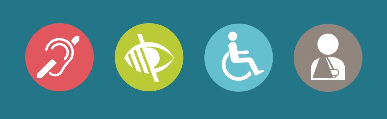 digital accessibility icons