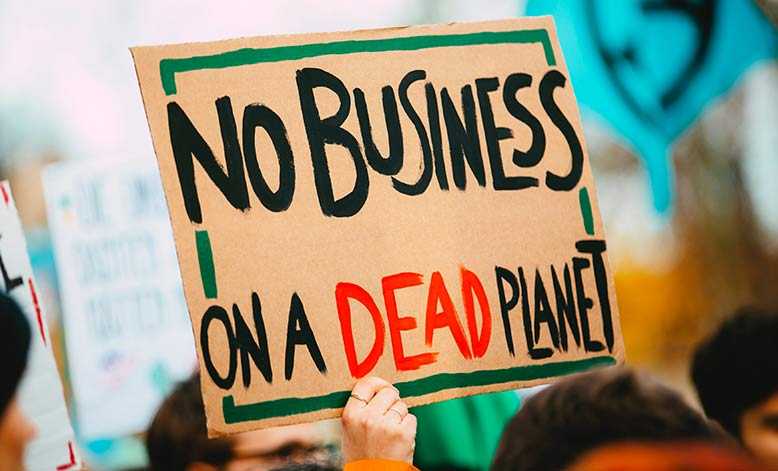 No business to be done on a dead planet