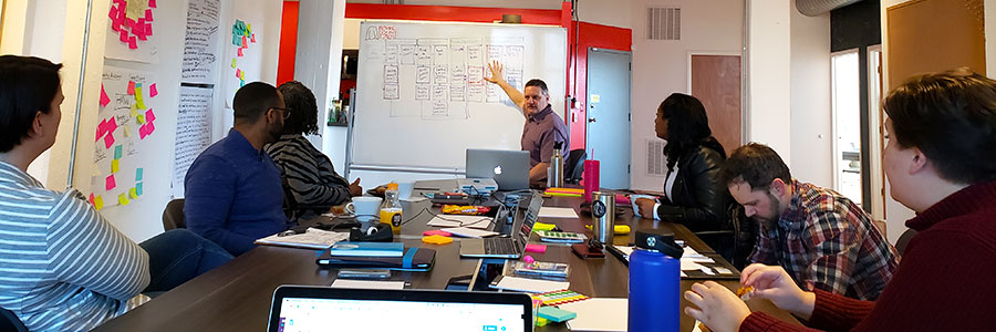 Design Sprint with Alliance for the Great Lakes