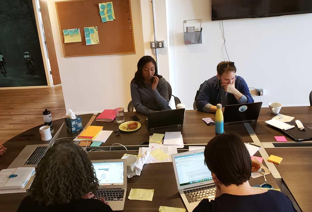 Design Sprint group prototyping