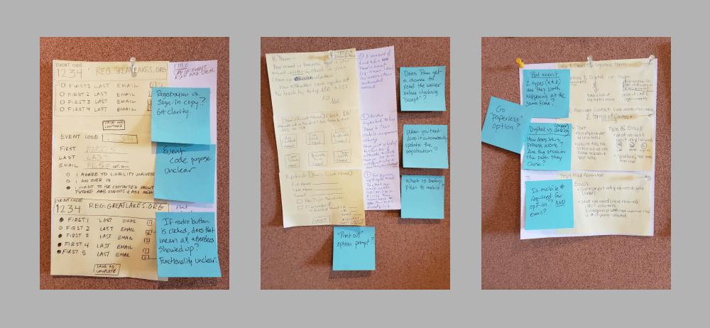 Design Sprint sketching activities