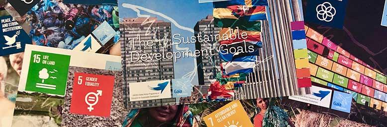 Gaia Education's SDG Flashcards