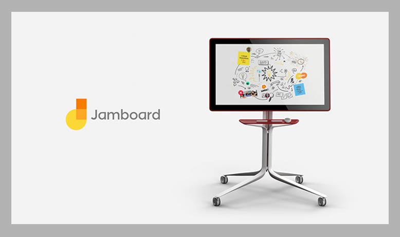 Google Jamboard digital whiteboard