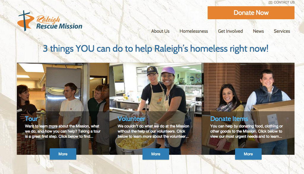 raleigh rescue mission home page