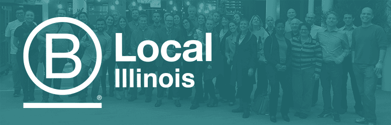B Local Illinois logo banner